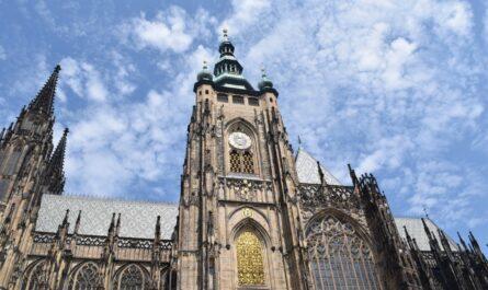 Česká architektura v podání překrásné katedrály.