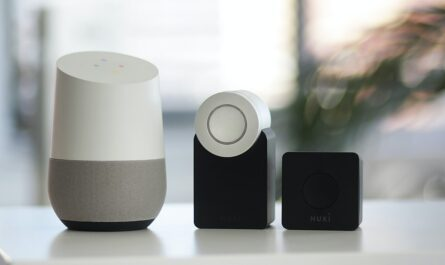 Moderní zařízení spadající do kategorie chytrá domácnost.