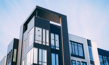 Pronájem bytu v moderním bytovém komplexu.